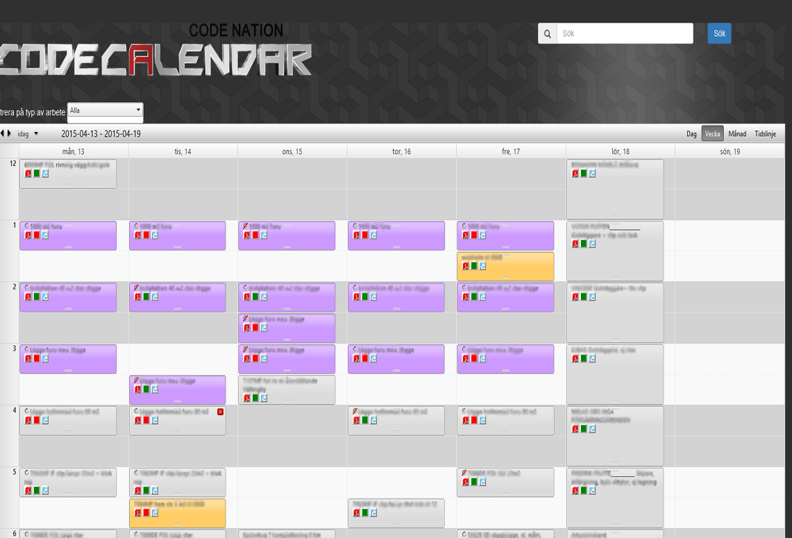 E-Scheduler veckovy